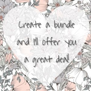 Other - Create a bundle and I'll offer you my best deal!